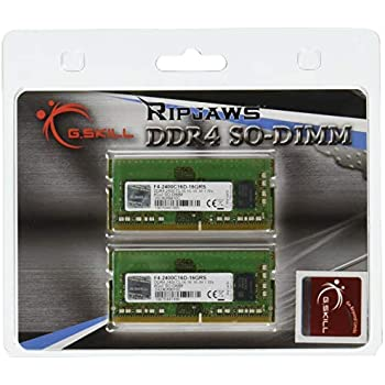 G.Skill Ripjaws SO-DIMM 16GB DDR4-2400Mhz módulo de - Memoria (16 ...