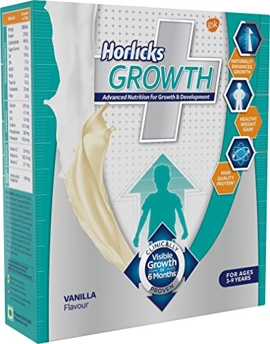 Horlicks Growth Plus - 200 g (Vanilla)