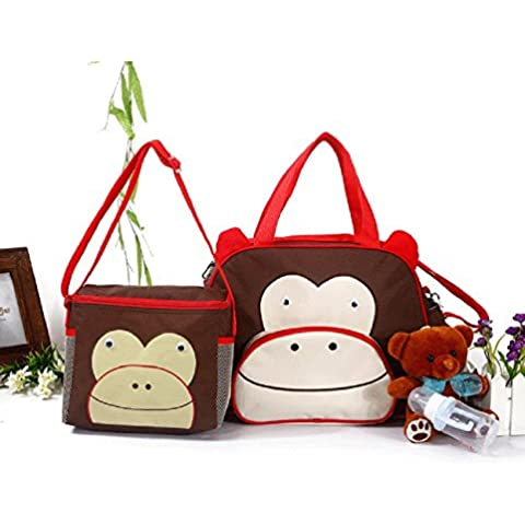 Multifunzione Mono Rosso Tre Serie Di Nuovi modelli animali di borsa a tracolla diagonale pacchetto di prodotti Bambini Mamma Festa della