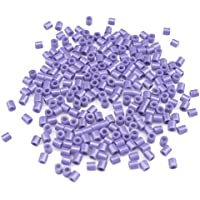 Comparador de precios DIY Platic Perlen, Minkoll 1000 Teile/los 5 mm DIY Puzzle Handwerk Spielzeug für Kinder Kinder Pädagogisches (helpurpur) - precios baratos