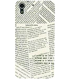 PRINTSWAG TYPHOGRAPHY Designer Back Cover Case for HTC DESIRE 728