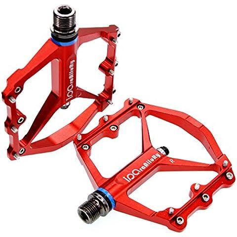 Bici de la bicicleta MTB de la aleación de aluminio Pedales Plataforma CNC Eje de acero de