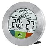 Bresser Thermo-/Hygrometer, silber