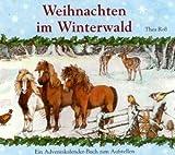 Weihnachten im Winterwald: Adventskalender-Leporello-Buch