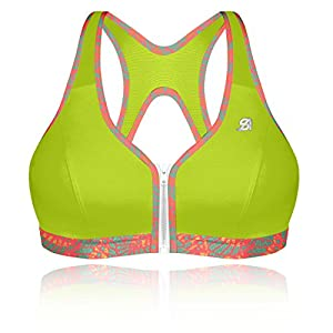 517M942jaTL. SS300  - Shock Absorber Women's Active Zipped Plunge Sports Bra