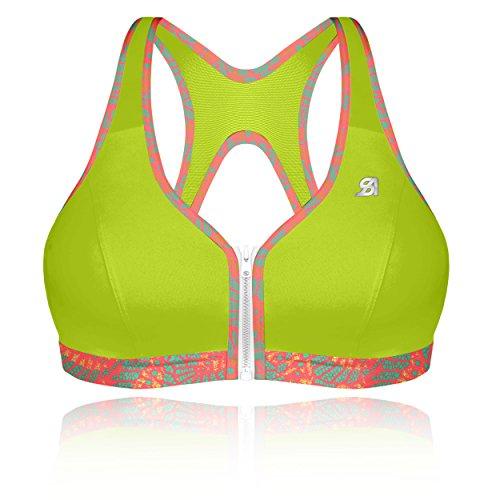 517M942jaTL. SS500  - Shock Absorber Women's Active Zipped Plunge Sports Bra