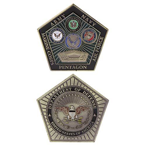 siwetg Gedenkmünze amerikanische Armee-Marinepentagon-Sammlungs-Kunst-Geschenk-Andenken - Arm Sammlung