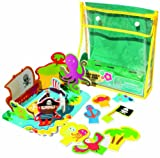 Meadow Kids MEA-MK036 Treasure Island Floating Activity Bath Set