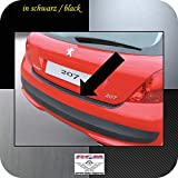 Richard Grant Mouldings Ltd. Original RGM ladekant Protección Negro para Peugeot 207 Hatchback de 3