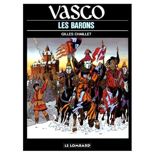 Vasco, tome 5 : Les Barons