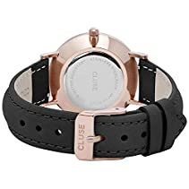 Cluse Minuit Rose Gold White/Black Damenuhr CL30003