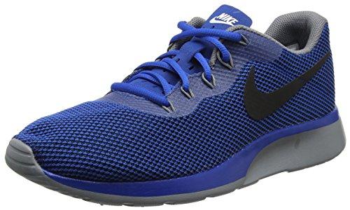 Nike Tanjun Racer, Zapatillas de Gimnasia Para Hombre, Azul (Blue Jay/Black/Wolf Grey), 43 EU