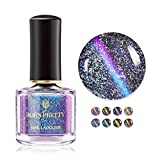 BORN PRETTY Nail Art Holographic Cat Eye Nail Polish 8pcs Set 3D Magnetic Color Changing 6ml Manicure Kits
