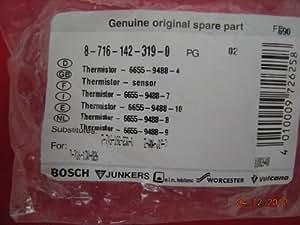 Worcester 240 280 Greenstar Highflow Thermister Sensor 87161423190