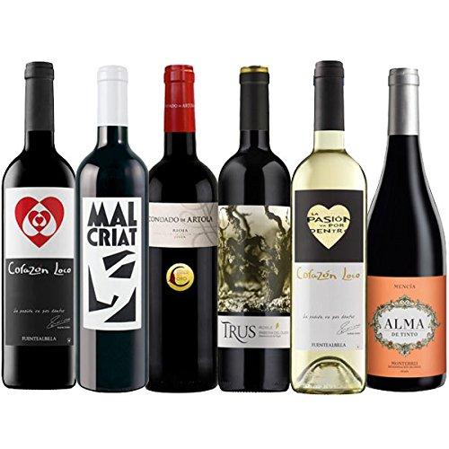Weinpaket Weinreise Spanien Nr. 1 (6 Flaschen)