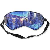 Blue Winter Beauty Scenery Sleep Eyes Masks - Comfortable Sleeping Mask Eye Cover For Travelling Night Noon Nap... preisvergleich bei billige-tabletten.eu
