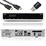 Protek 9911 LX HDTV digitaler TWIN Satelliten-Receiver (HDTV,2 x DVB-S2, HDMI, LAN, S/PDIF, Chinch Video Audio, CI-Interface, USB 2.0, Full HD 1080p) [LINUX E2] inkl. Anadol WLAN USB Stick - weiß