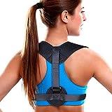 Nasharia Haltungskorrektur, Geradehalter Schulter Rückenstütze, ideal zur Therapie für haltungsbedingte Nacken, Rücken und Schulterschmerzen für Damen und Herren