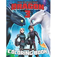 How to Train your Dragon 3: The Hidden World Coloring Book: 30 Awesome Illustrations for Kids
