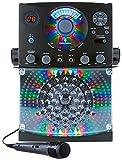 Singing Machine SML385BTB Karaoke Party Packet mit 3 CD/G-Platten schwarz