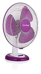 Greenchef Table Fan Purple - Swing