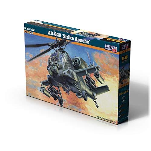 Mistercraft MCD36 1:72 AH-64A Strike Apache, Multi