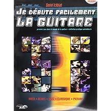 Ichbiah Daniel Je Debute Facilement La Guitare Guitar Book/Cd French