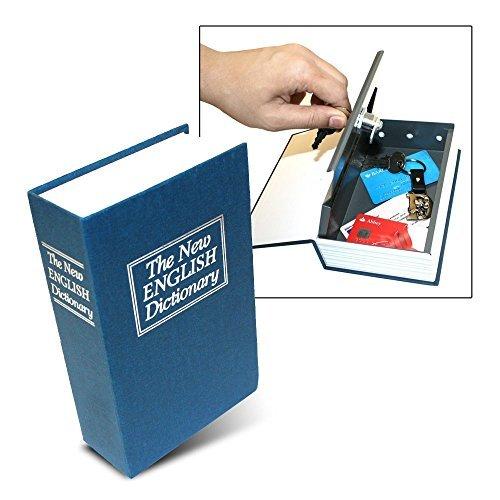 Wörterbuch Secret Book verstecktem Safe mit Key Lock, groß, blau das Original aus DINY Home & Style Adt Alarm