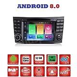 Android 8.0GPS DVD USB SD Wlan Bluetooth Autoradio 2Din NAVI Mercedes E-Klasse W211/Mercedes G-Klasse W463/Mercedes CLK-Klasse W209/CLS-Klasse W219/E200/E220/E240/E270/E280/E300