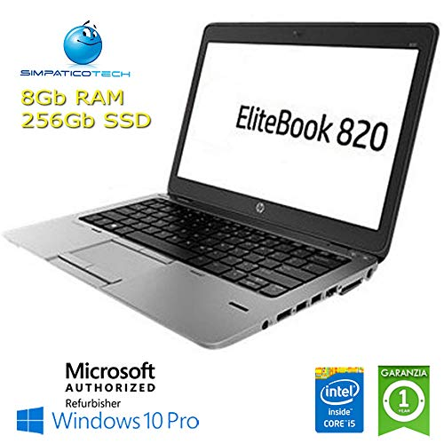 Notebook EliteBook 820 G2 Core i5-5300U 8 GB 256 GB