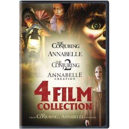 The Conjuring & Annabelle Universe: 4-Film Collection (The Conjuring / Annabelle / The Conjuring 2 / Annabelle: Creation) [DVD]