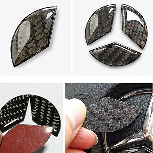 Emblème Trading Volant Cache d'autoradio carbone flex diamètre 49 mm