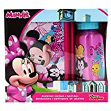 Disney Set Regalo, Sandwichera Plástico Y Cantimplora Kids Euroswan WD19449