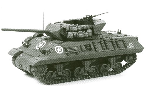 Tamiya 1:35 WW2 U.S. Tank Destroyer M10