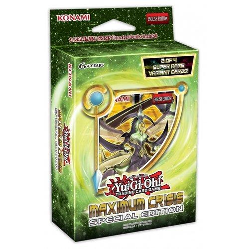 Yu-Gi-Oh! Maximum Crisis Special Edition 14934, Handelskarten, Sonderausgabe (möglicherweise nicht in deutscher Sprache) (Yu-gi-oh Pendulum Monster)
