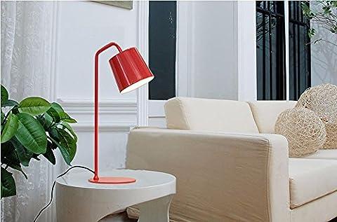 SUNQIAN-Einfache pastorale Nachttischlampe, Zimmer Schlafzimmer