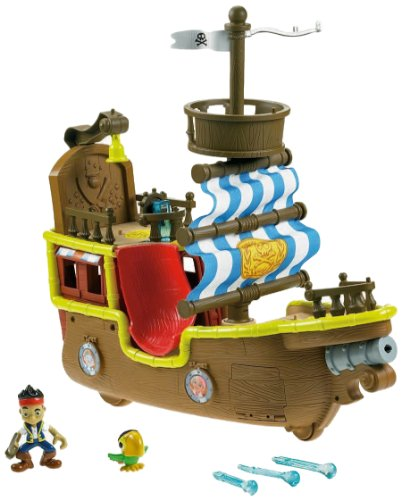 Mattel Jake And The Neverland Pirates Ship Bucky