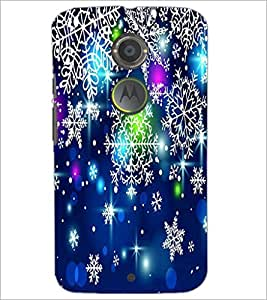 PrintDhaba Pattern D-2081 Back Case Cover for MOTOROLA MOTO X2 (Multi-Coloured)
