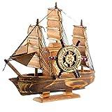 Dudu Schiff Hölzerne Geschenk Und Dekoration Historische Nautische Dekoration Mini-Boot-Modellsammlung