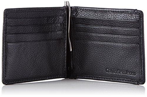 Calvin Klein Jeans SEAL 8CC K50K500701 Herren Geldbörsen 12x9x1 cm (B x H x T) Schwarz (Black 001)