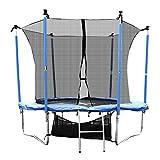 FDS Sports Trampoline Gartentrampoline Outdoor Komplettset inkl. Sicherheitnetz,Leiter,Schuhtasche und Regenabdeckplane Diverse Größen (10ft/305cm)
