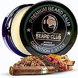 Balsamo per Barba Premium   Marine Commando   Il Miglior Balsamo e Emolliente per Barba   100% Naturale & Organico   Ottimo per la Cura dei Capelli e la Crescita