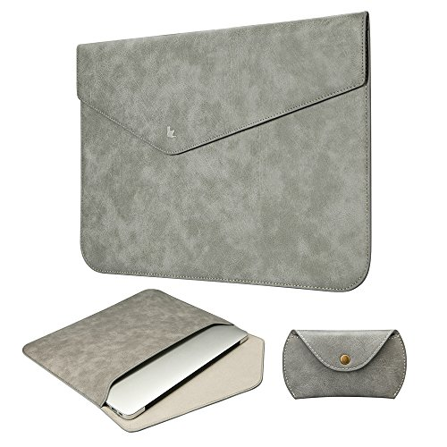 Jisoncase-ELEGANT-Macbook-Air-Pro-Retina-133-Zoll-Hlle-Weich-Schlank-Ultrabook-Laptop-Leder-Tasche-in-grau-JS-AIR-03D64