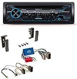 Sony MEX-N4200BT CD Bluetooth USB Aux MP3 Autoradio für Audi A2 A3 8L A4 B5 A6 C5 Aktivsystem