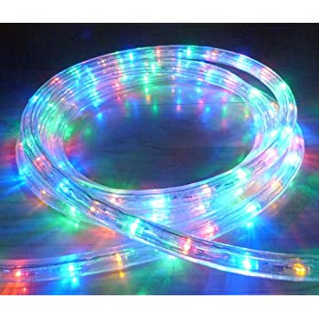 Multicolour led outdoor rope light with 8 functions 8 metres with multicolour led outdoor rope light with 8 functions 8 metres with 288 leds chasing aloadofball Gallery