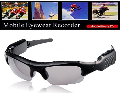 Best seller610 SunGlasses mini Spy glass DV DVR Hidden Camera glasses Video glasses Ski Glasses Video Recorder