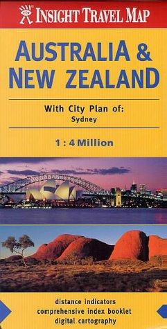 Australia and New Zealand Insight Travel Map