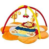 acmede–Tappeto di gioco rotondo giocattolo modello di animali spessa morbido per neonati svolgere gattonare esterno Playmat Baby