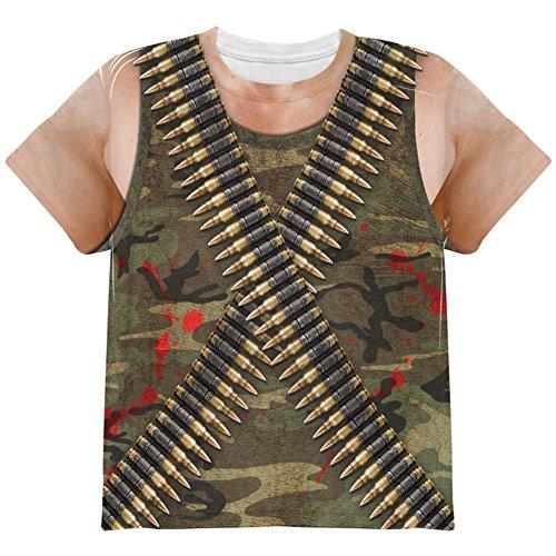 (Kostüm Halloween Commando Ranger Ganzen Jugend T Shirt Multi YMD)