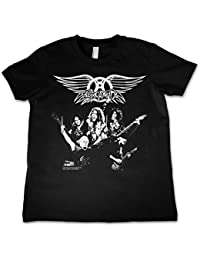 Aerosmith Unisex Official Kids T-Shirt Ages 3-12 Years